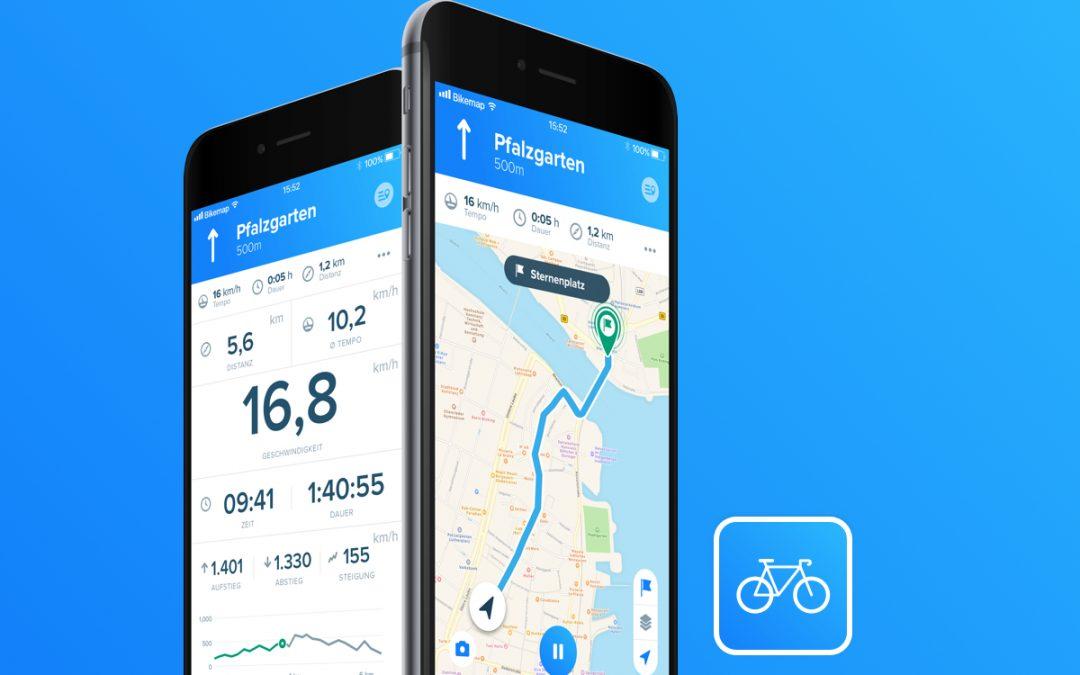 Die neue Bikemap App ist da!