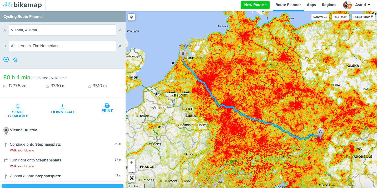 Bikemap Heatmap: Plan Your Perfect Route | Bikemap Blog