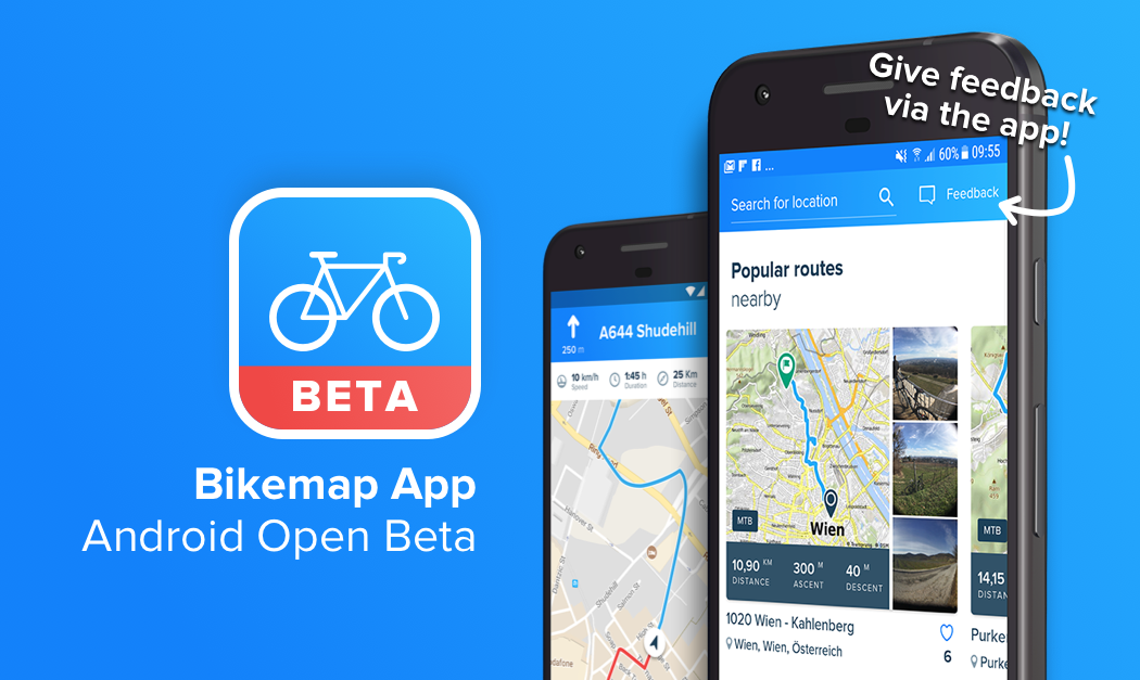 open beta test android users wanted bikemap blog