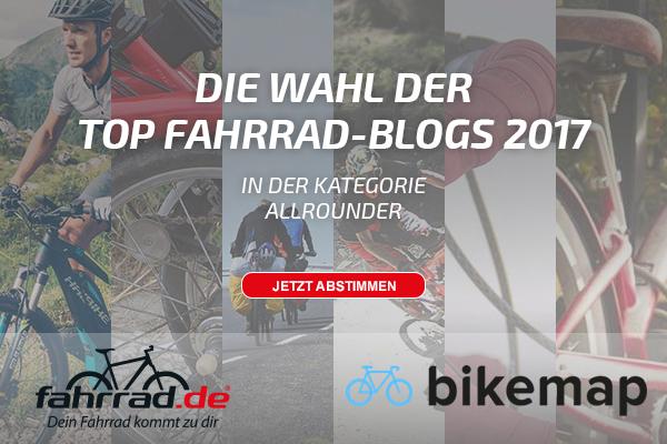 Die Wahl der Top Fahrrad-Blogs 2017