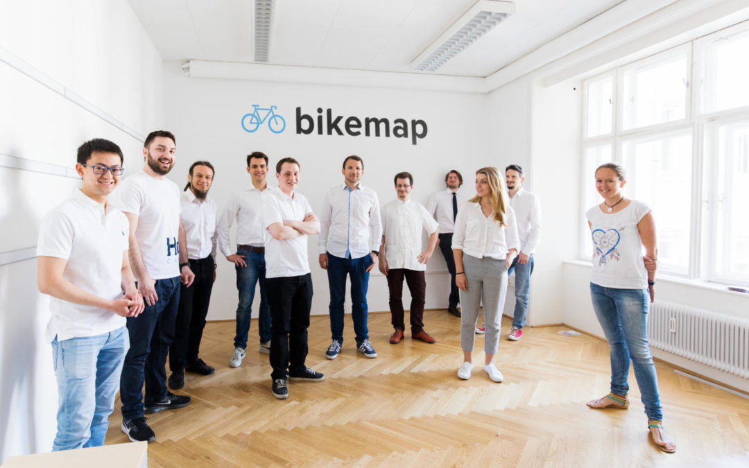 The Year 2017 at Bikemap