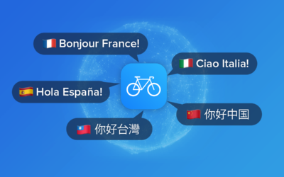 Bikemap App in 5 weiteren Sprachen verfügbar!