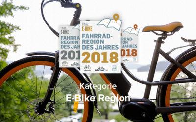 Jetzt abstimmen: Die beste E-Bike-Region