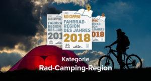 Jetzt abstimmen: Die beste Rad-Camping-Region