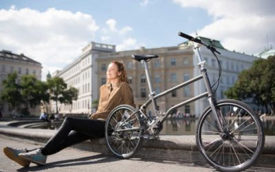 Bikemap Tested: Self-charging Electric Folding Bike by VELLO